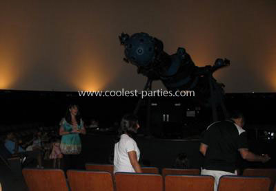 Coolest Space Birthday Party at the Planetarium