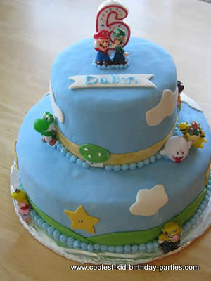 Coolest Super Mario and Luigi Birthday Party