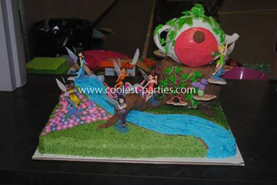 Coolest Tinkerbell Neverland Birthday Party For A 4 Year Old Girl