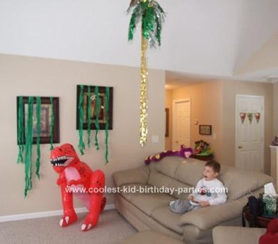 Bethany's Dinosaur Party Tale