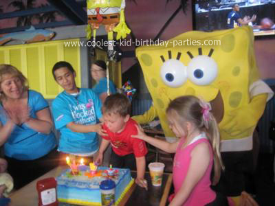 April's Spongebob Party Tale
