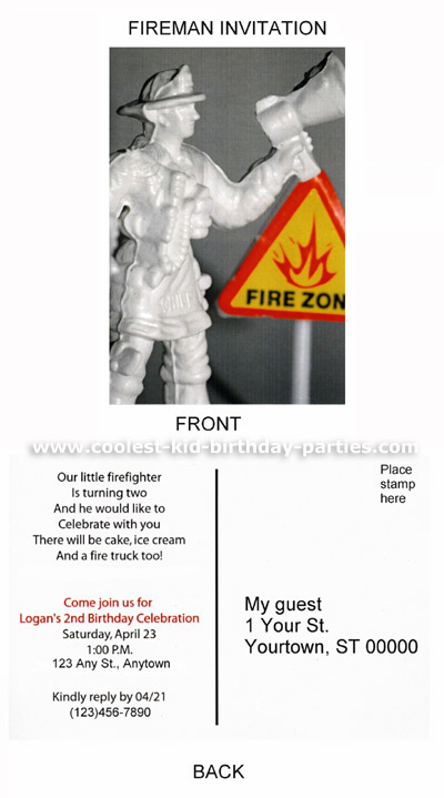 Coolest Fire Fighter Party Ideas and Photos