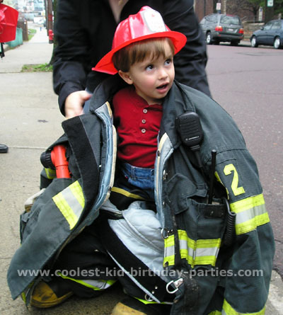 Teresa's Firefighter Birthday Party Tale