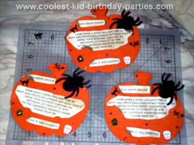 Trinitys Spooky Halloween Party Tale