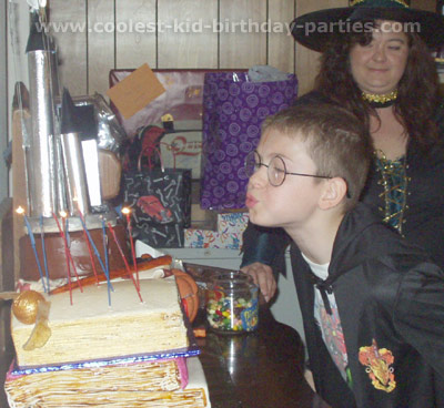 Coolest Harry Potter Party Ideas and Photos