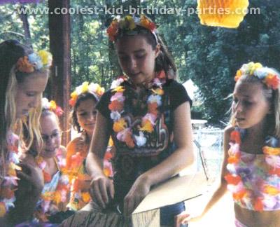 Laura's Luau Birthday Party Tale