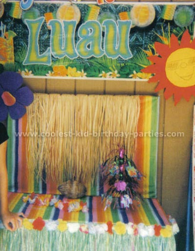 Laura's Hawaiian Luau Party Tale