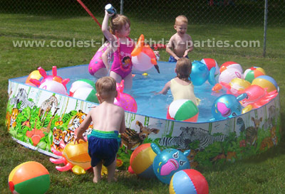 Image Of Luau Themed Birthday Party Games Parties 30th
