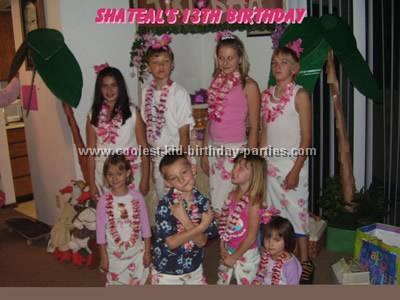 Sheryl's Luau Birthday Party Tale