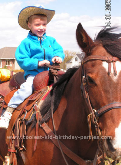Amy's Horse Party Tale