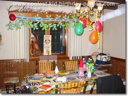 Coolest Jungle Theme Party Ideas