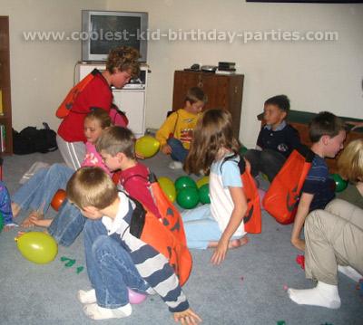 Betsy's Magic Tree House Party Tale