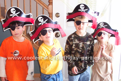 Shannon's Pirate Theme Party Tale