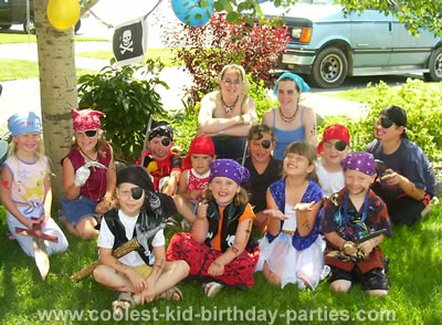Brenda's Pirate Theme Party Tale