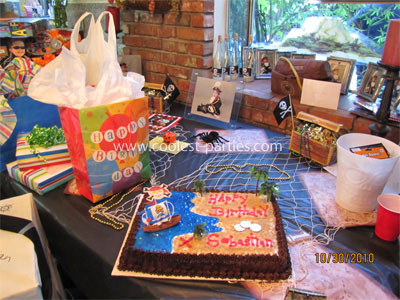 Pirate 1st Birthday Party