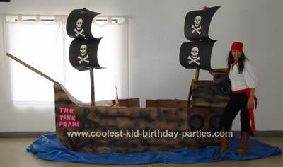 Jordy's Pirate Theme Party Tale