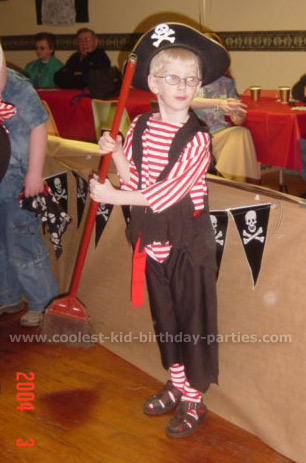 Susan's Pirate Theme Party Tale
