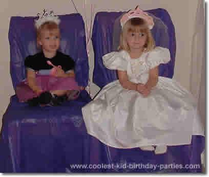 Melanie's Princess Party Tale