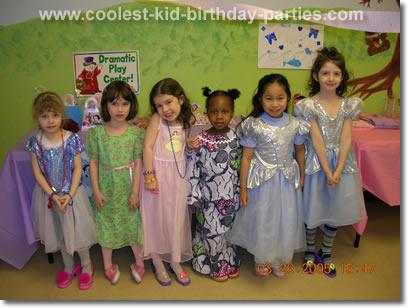 Natalie's Princess Party Tale