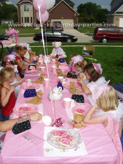 Tea Birthday Party Ideas