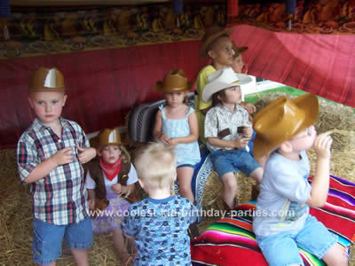 Aimee's Wild West Party Tale