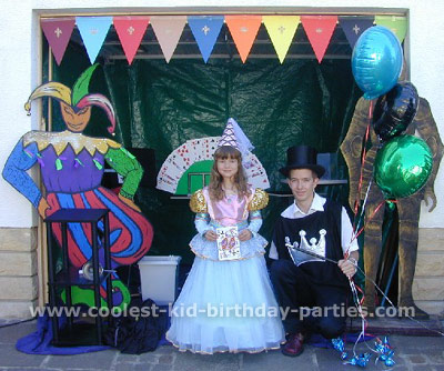 Medieval Knight kid birthday party