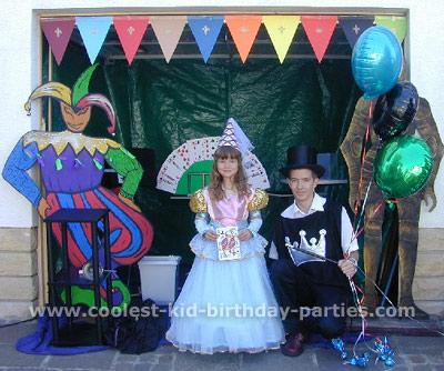 Medieval Knight kid birthday party