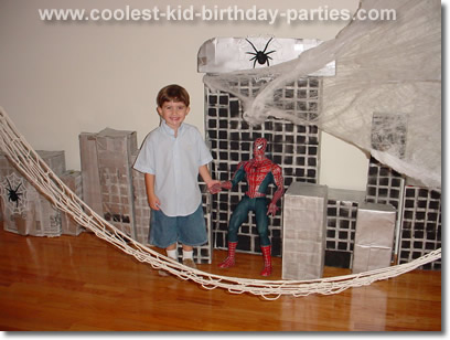 Spider Man Birthday
