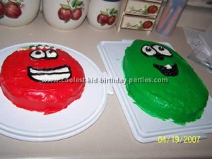 Brilliant Coolest Veggie Tales Birthday Party Ideas From Games To Cakes Personalised Birthday Cards Veneteletsinfo