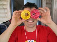 Styrofoam Binoculars