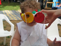 Binocular Kid Craft
