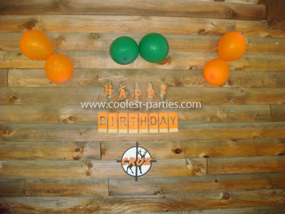 Hunting Birthday Party