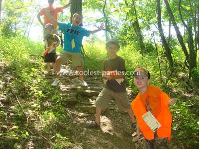 Hunting Birthday Party