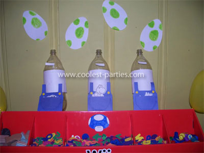 Mario Birthday Party