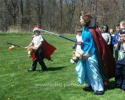 Knight Activities - Child Party Game