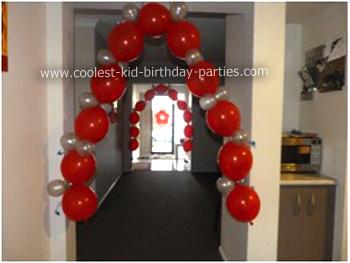 Nikash Sesame Street Party Balloons