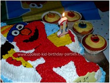 Nikash Sesame Street Party Cupcakes