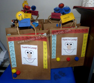 Nikash Sesame Street Party Bags