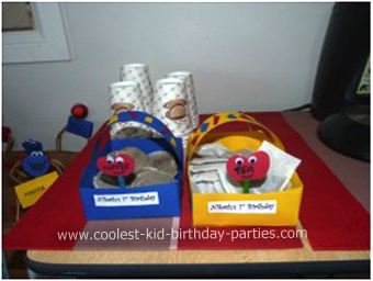 Nikash Sesame Street Party Decorations