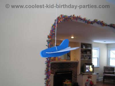 Caroline's Airplane Party