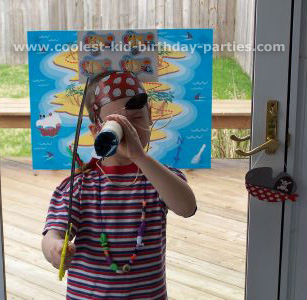 Mona's Pirate Childrens Birthday Party Tale