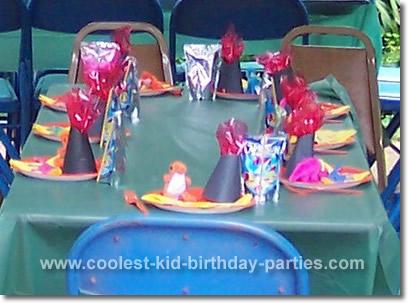 Rebecca's Dino-Mite Dinosaur Party