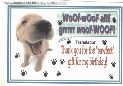 Holly's Dog Birthday Party Tale