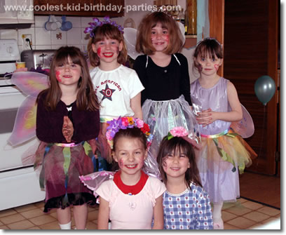 Ginger's Fairy Birthday Party Tale
