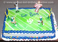 Jeffere's Football Birthday Party