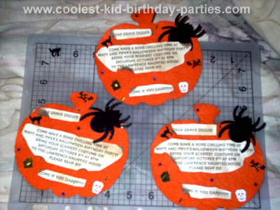Trinity's Spooky Halloween Party Tale