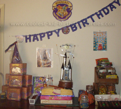 Lydia's Harry Potter Party Tale