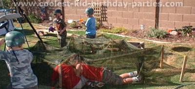 Tiffany's Military Kids Birthday Party Tale